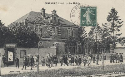 photo ancienne mairie école Ouarville